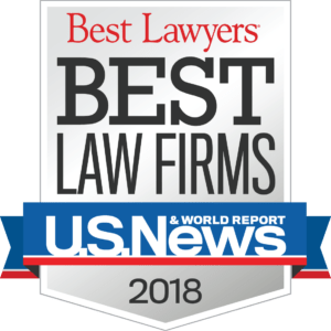 US NEw best law firms 2018